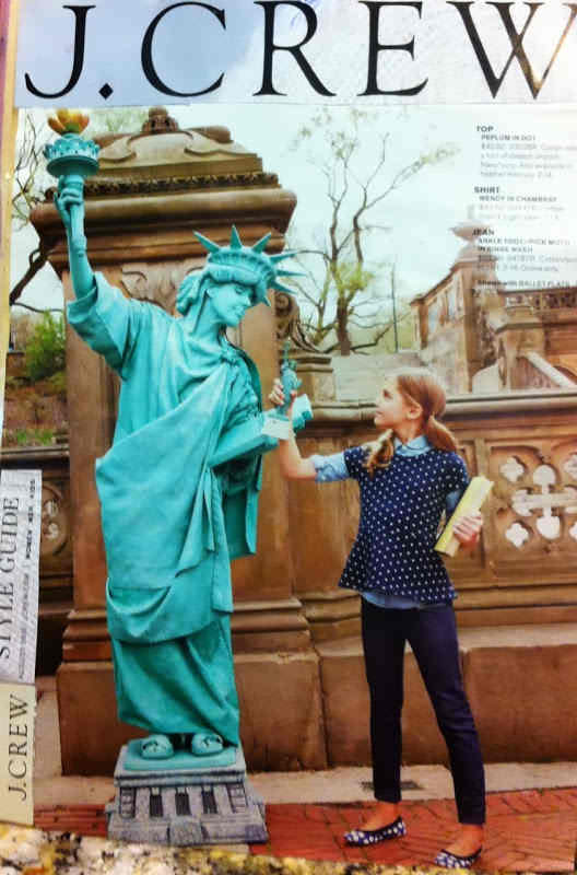 statue of liberty new york performer